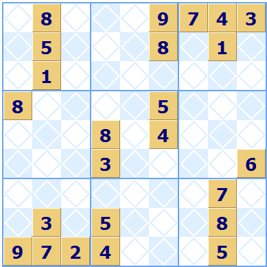 Multiple Solution Sudoku Puzzle
