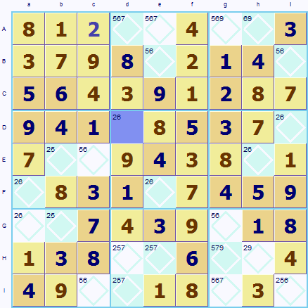 Making a guess in Sudoku
