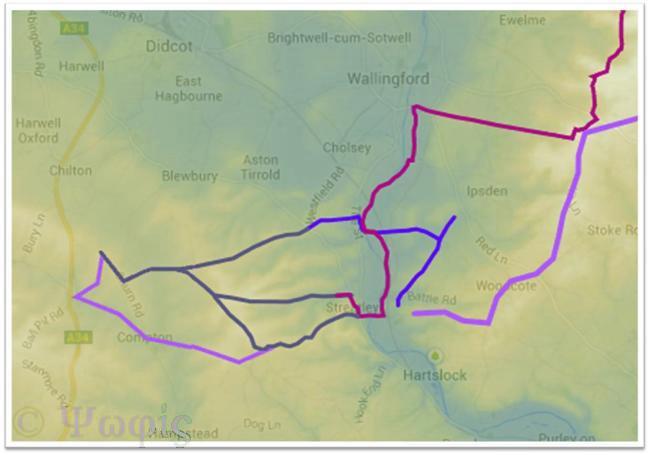Goring Gap,Great Ridgeway,Ridgeway