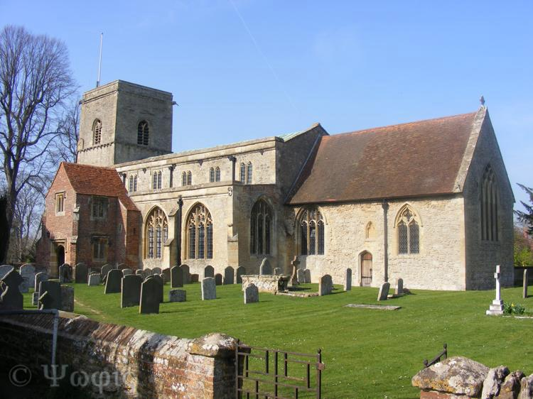 Sutton Courtenay church