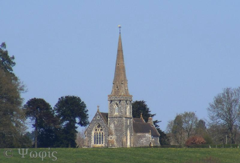 Midgham church,church