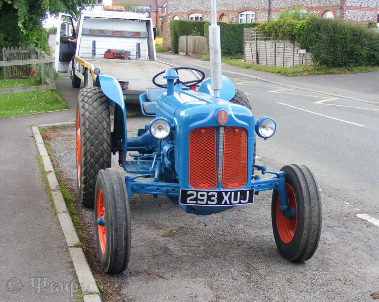 Tractor,Fordson Dexter