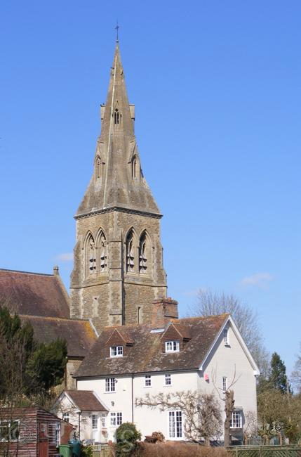 Stratfield Mortimer church