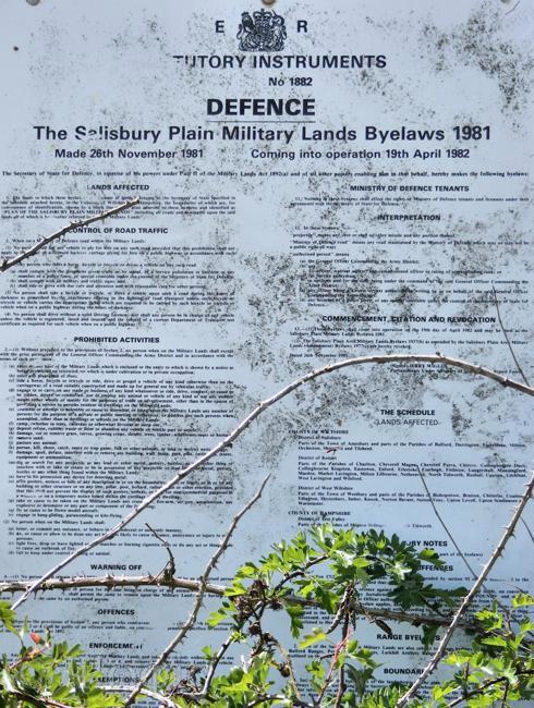 military range,Salisbury Plain