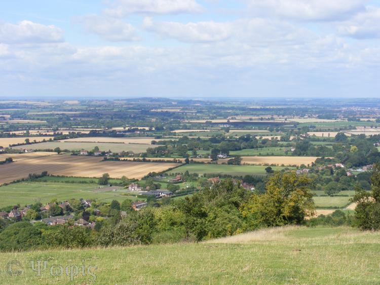 Coombe Hill,view
