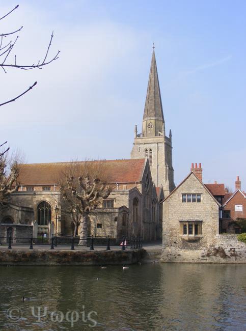 St Helens Abingdon,Abingdon