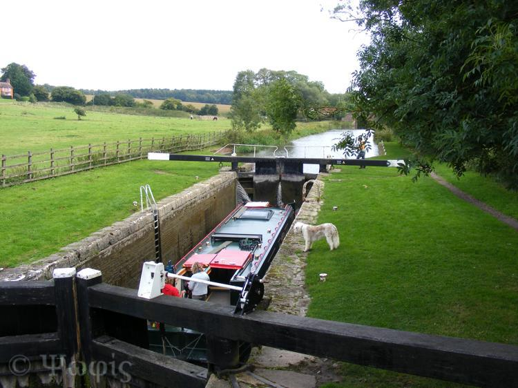 Kennet and Avon canal,lock,boat