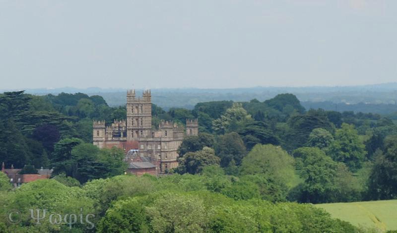 Highclere castle,Downton Abbey