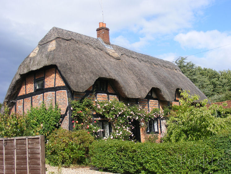 East Garston,Thatched cottage