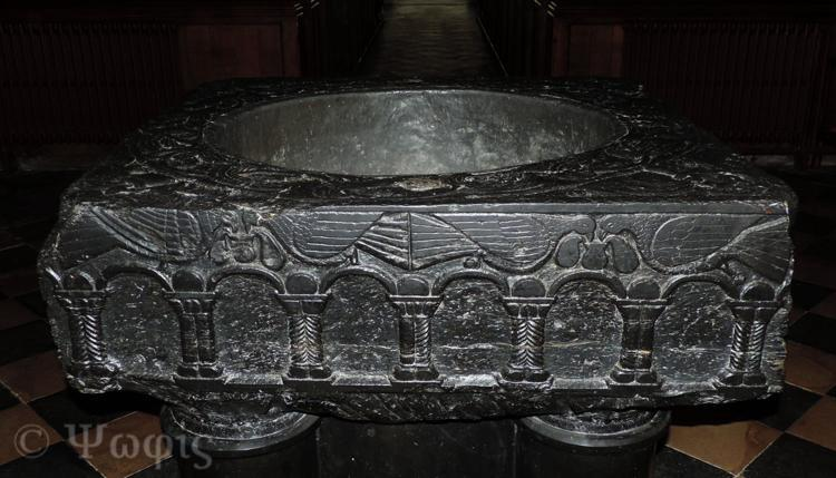 font,St Mary Bourne,black marble