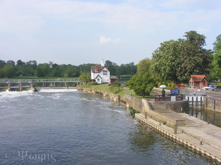 Goring bridge