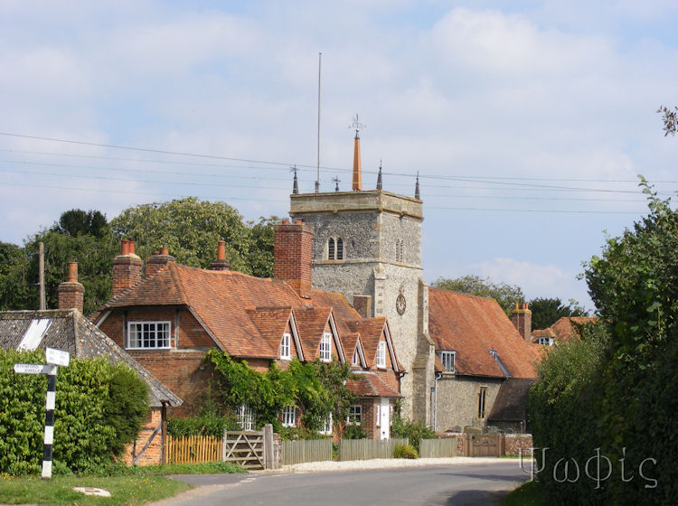 Bucklebury church