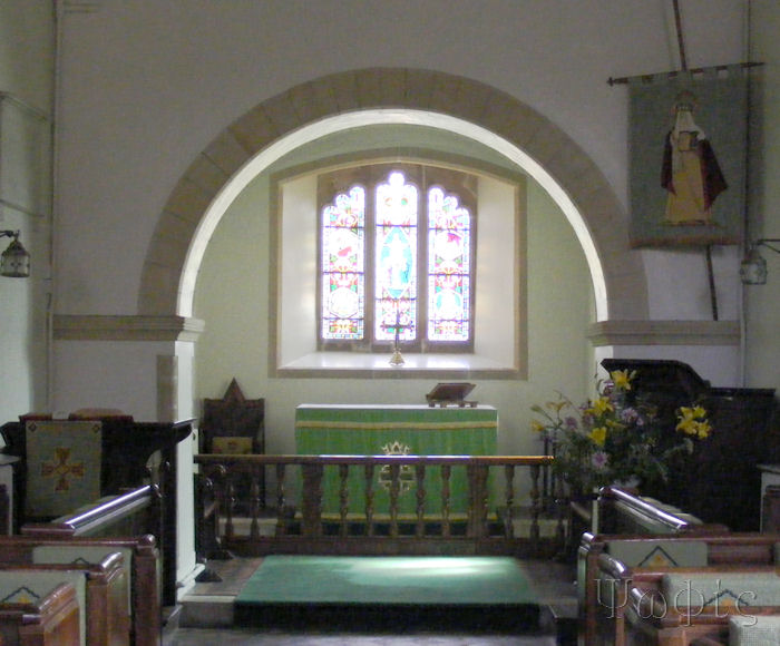 Frilsham Church,Chancel