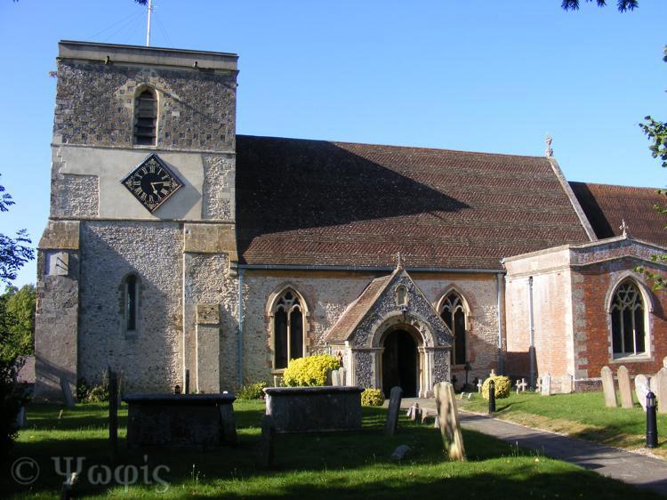 Kintbury church