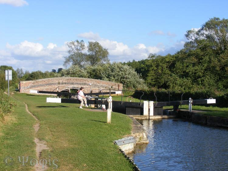 Kennet and Avon canal lock