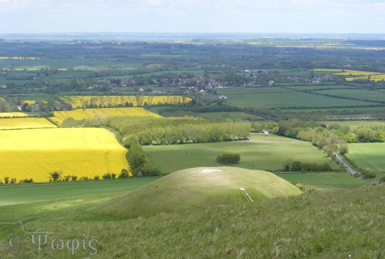 Whitehorse,Uffington,Dragon Hill