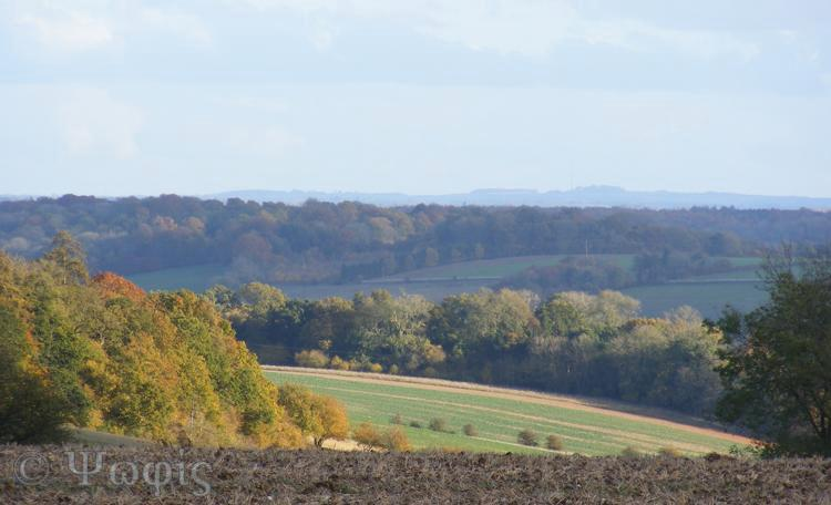 autumn,view,inkpen ridge