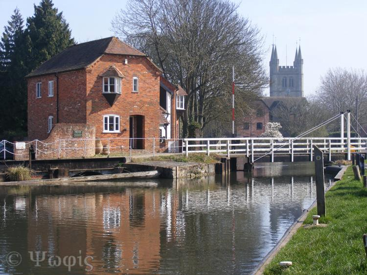 newbury centre,canal