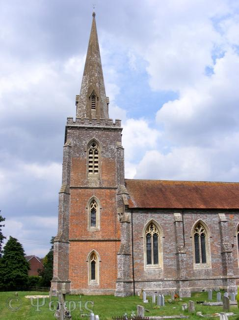 Peasemore church