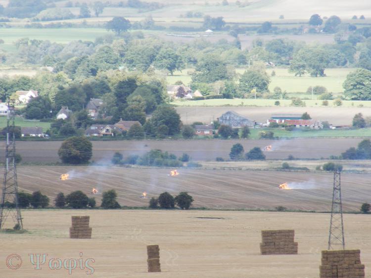 field bruning