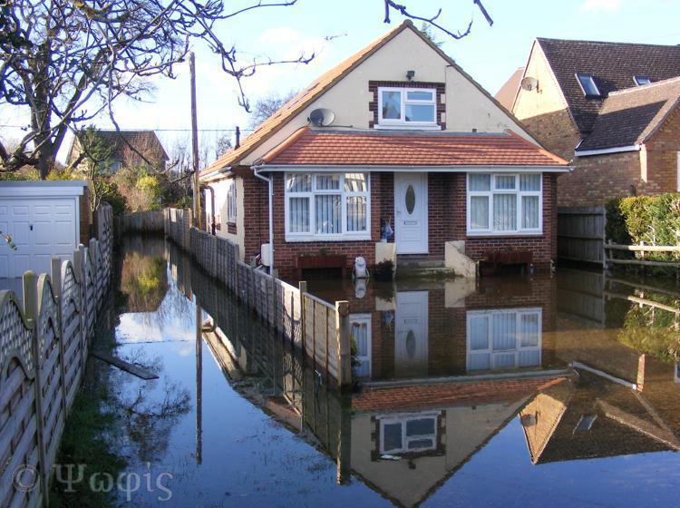 flood,Purley,flooded house