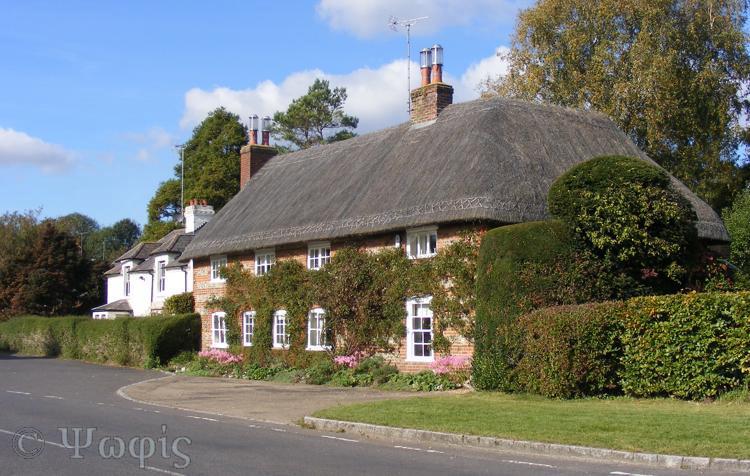 thatched house,vernham dean