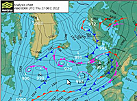 Met office pressure forecast