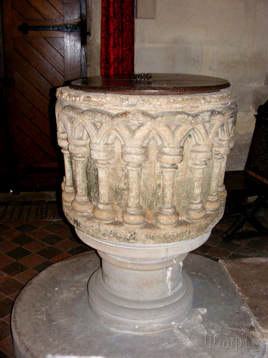 Welford church font
