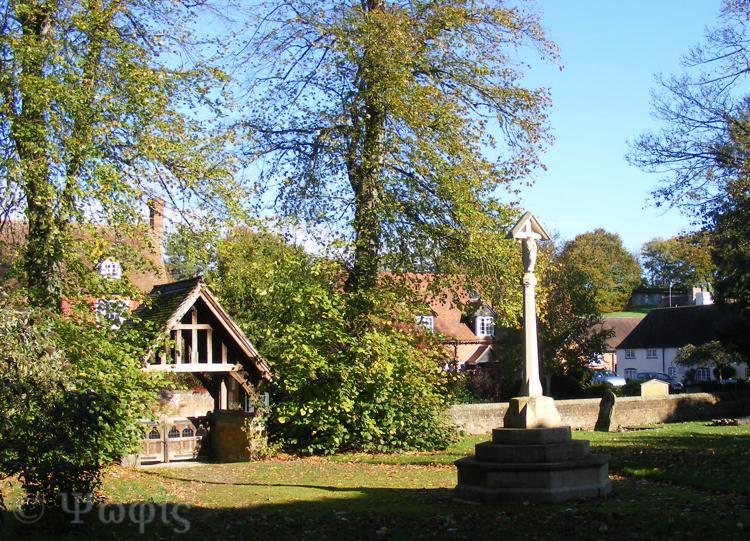 West Ilsley churchyard