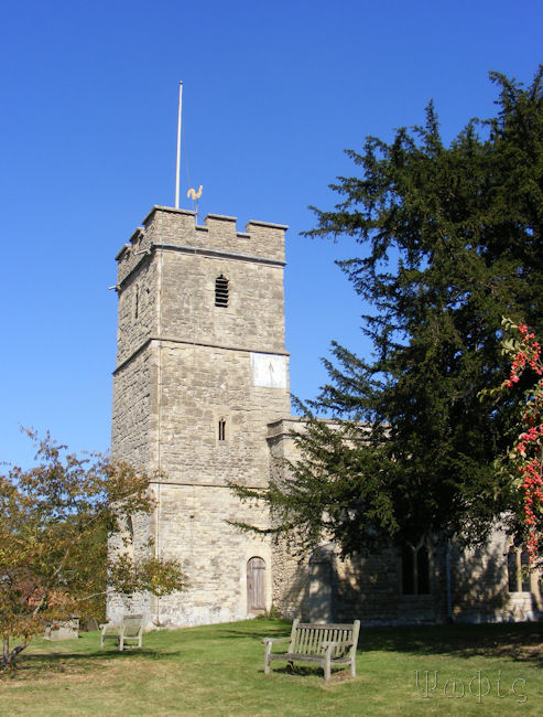 long wittenham church