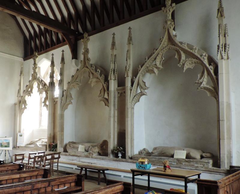 Aldworth church,giants,tomb