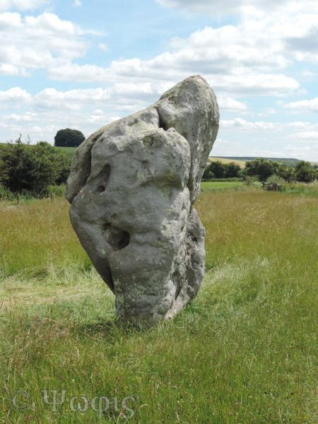 sarsen stone,western kennet avenue,Avebury