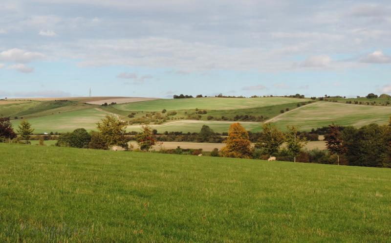 liddington hill,view