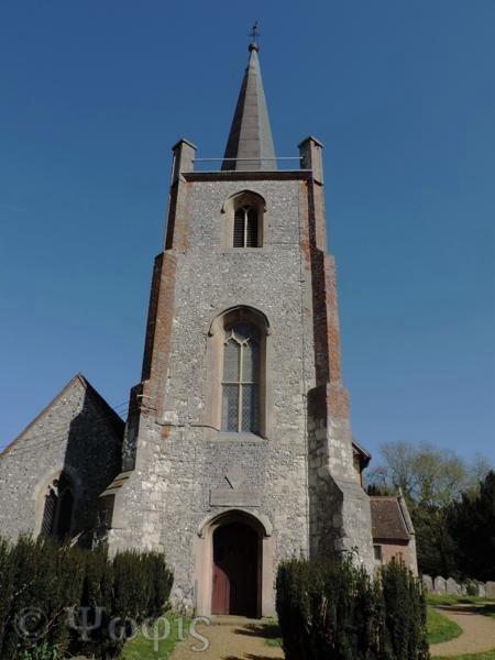 Sherborne St. John church
