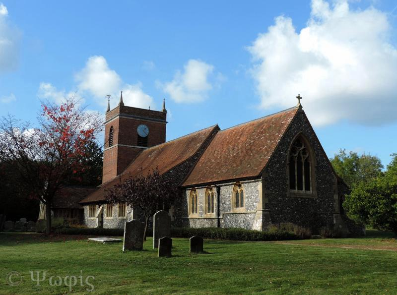 Beenham church,church
