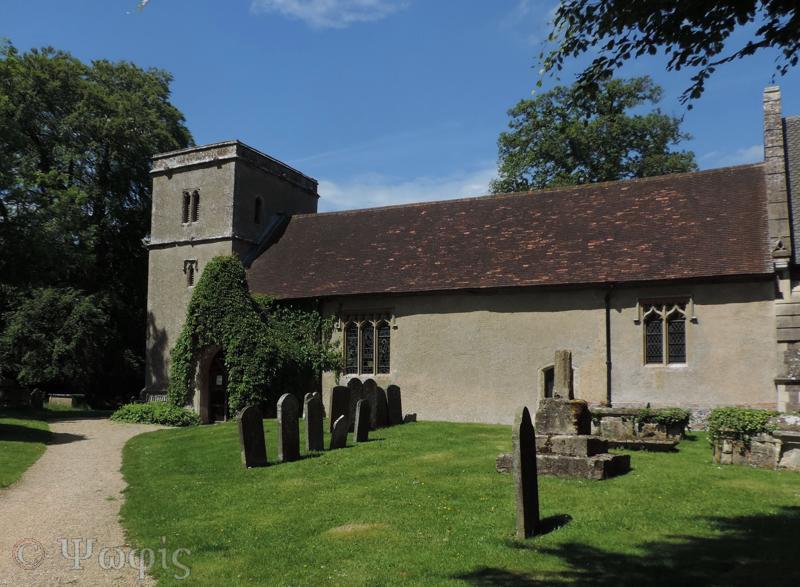 Chaddleworth church