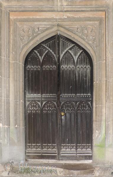 EwelmeChurch,west door