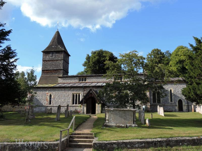 Hurstbourne Tarrant, church