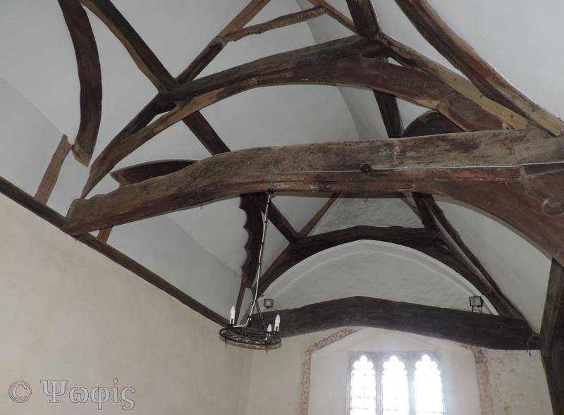 ipsden church,roof