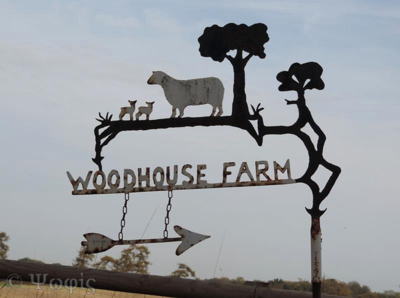 Farm sign,Woodhouse Farm sign
