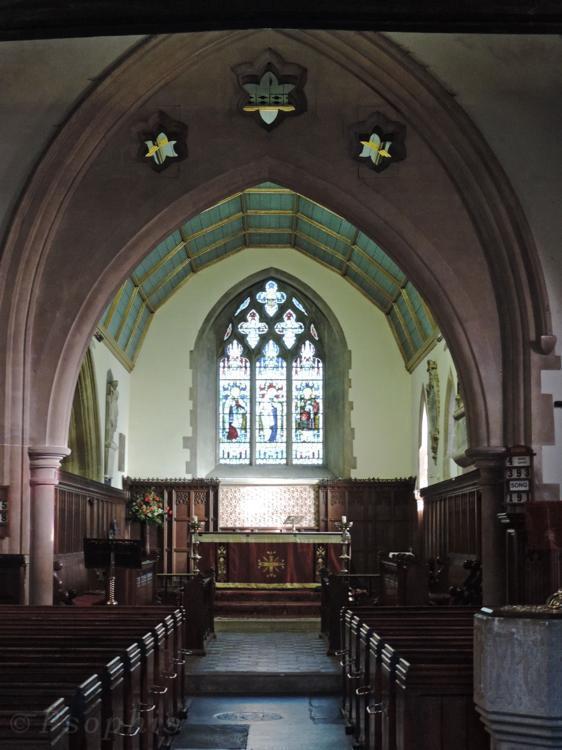 whitchurch church
