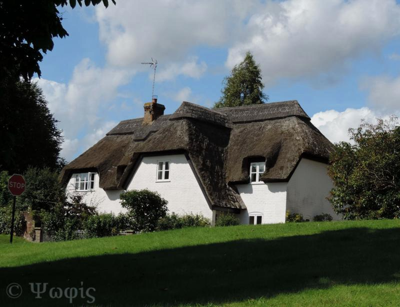 Ham,thatched house