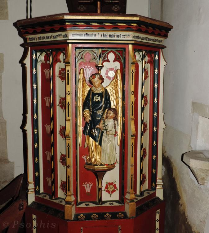 Drayton St Leonards pulpit
