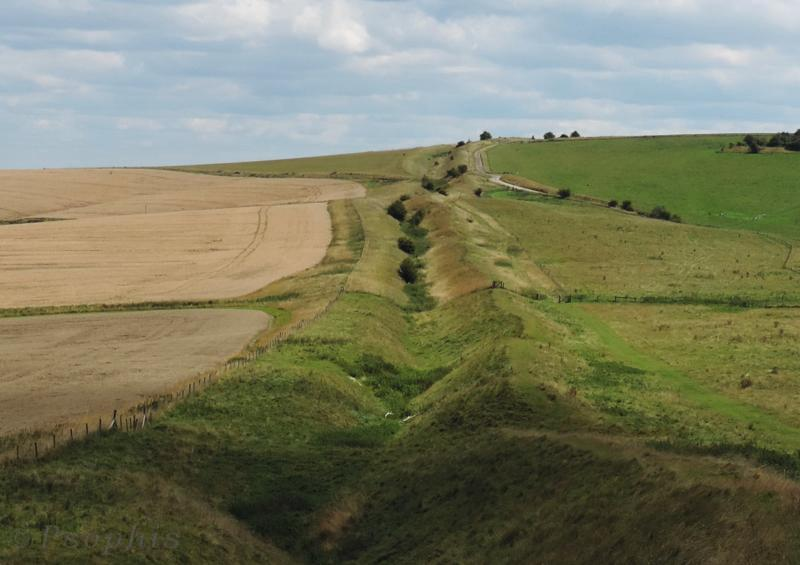 Wansdyke ditch