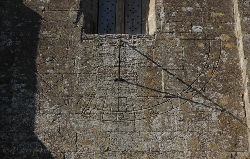 alton priors,sundial,church