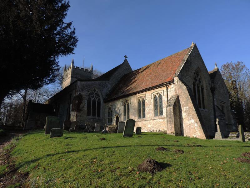 Brightwell Baldwin church,church