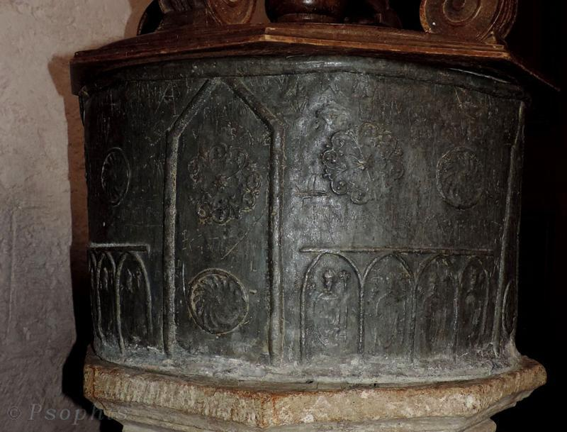 Warborough Church,font