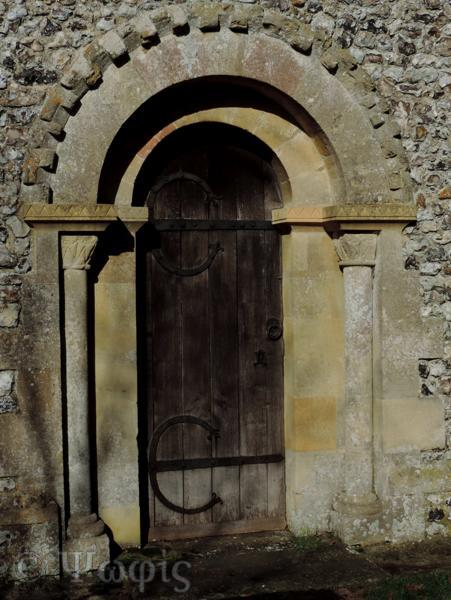 Britwell Salome church door